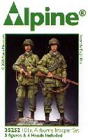 アルパイン1/35 フィギュアWW2 アメリカ 第101空挺師団 兵士 (2体セット)