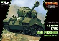 MENG-MODELWORLD WAR TOONSアメリカ重戦車 M26 パーシング