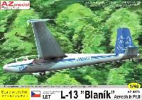 AZ model1/48 エアクラフト プラモデルL-13 ブラニック エアロクラブ パート3