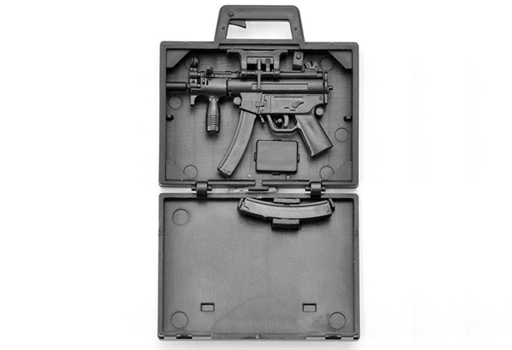 MP5K コッファータイププラモデル(トミーテックリトルアーモリー (little armory)No.LA045)商品画像_2