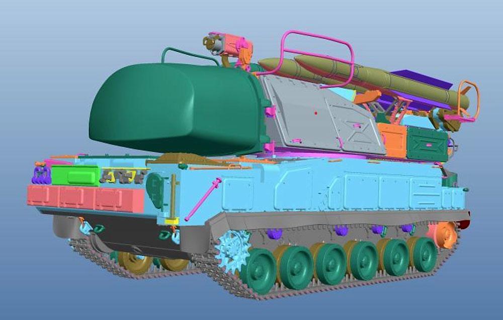 ロシア 9K37M Buk-M1 ブーク防空ミサイルシステムプラモデル(パンダホビー1/35 CLASSICAL SCALE SERIESNo.PH35033)商品画像_3