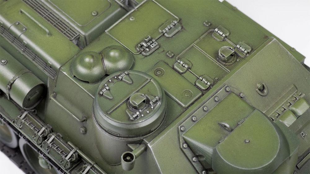 ソビエト自走砲 SU-100プラモデル(ズベズダ1/35 ミリタリーNo.3688)商品画像_2