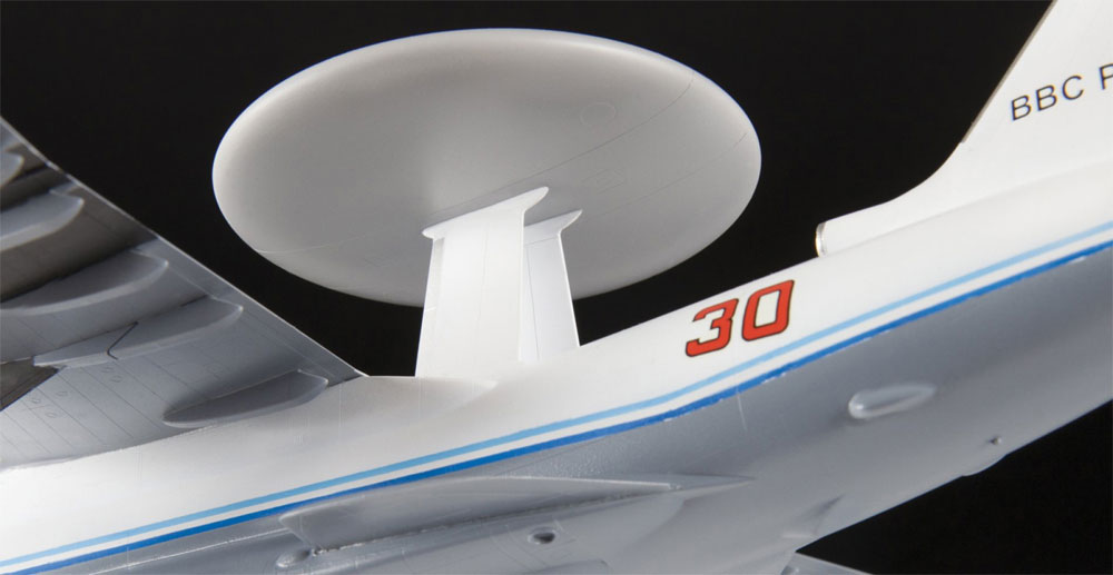 べリエフ A-50 メインステイ ロシア 早期警戒管制機プラモデル(ズベズダ1/144 エアモデルNo.7024)商品画像_3