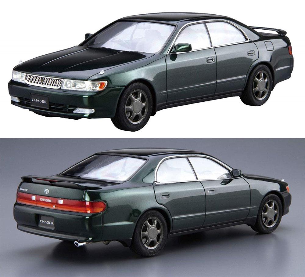 トヨタ JZX90 チェイサー/クレスタ アバンテ ルーセント/ツアラー '93プラモデル(アオシマ1/24 ザ・モデルカーNo.旧093)商品画像_3