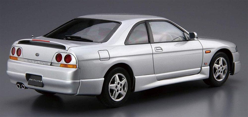 ニッサン ECR33 スカイライン GTS25t タイプM '94プラモデル(アオシマ1/24 ザ・モデルカーNo.旧094)商品画像_3