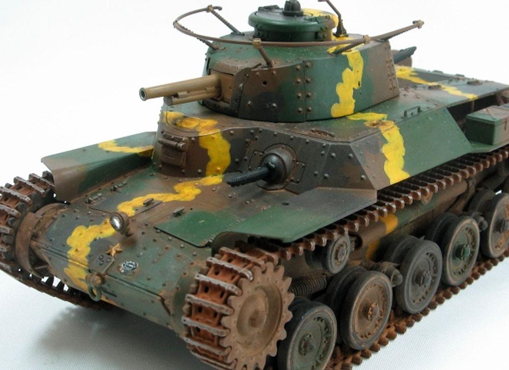 帝国陸軍 九七式中戦車 チハ 増加装甲型プラモデル(ファインモールド1/35 ミリタリーNo.FM027)商品画像_2