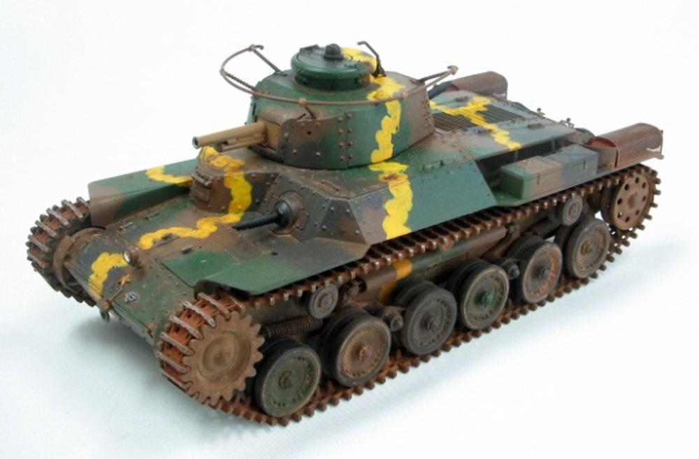 帝国陸軍 九七式中戦車 チハ 増加装甲型プラモデル(ファインモールド1/35 ミリタリーNo.FM027)商品画像_3