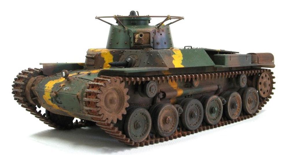 帝国陸軍 九七式中戦車 チハ 増加装甲型プラモデル(ファインモールド1/35 ミリタリーNo.FM027)商品画像_4