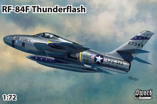 RF-84F サンダーフラッシュ パート1プラモデル(ソード1/72 エアクラフト プラモデルNo.72116)商品画像