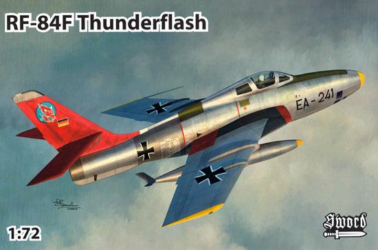 RF-84F サンダーフラッシュ パート2プラモデル(ソード1/72 エアクラフト プラモデルNo.72117)商品画像