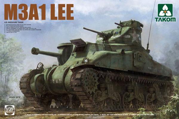 アメリカ 中戦車 M3A1 リー 中戦車プラモデル(タコム1/35 ミリタリーNo.2114)商品画像