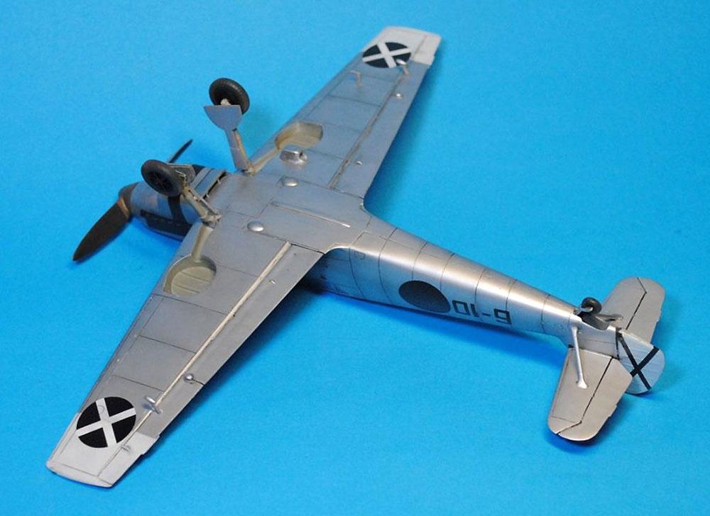 メッサーシュミット Bf109A/B コンドル軍団プラモデル(ドラ ウイングス1/48 エアクラフト プラモデルNo.DW48009)商品画像_4