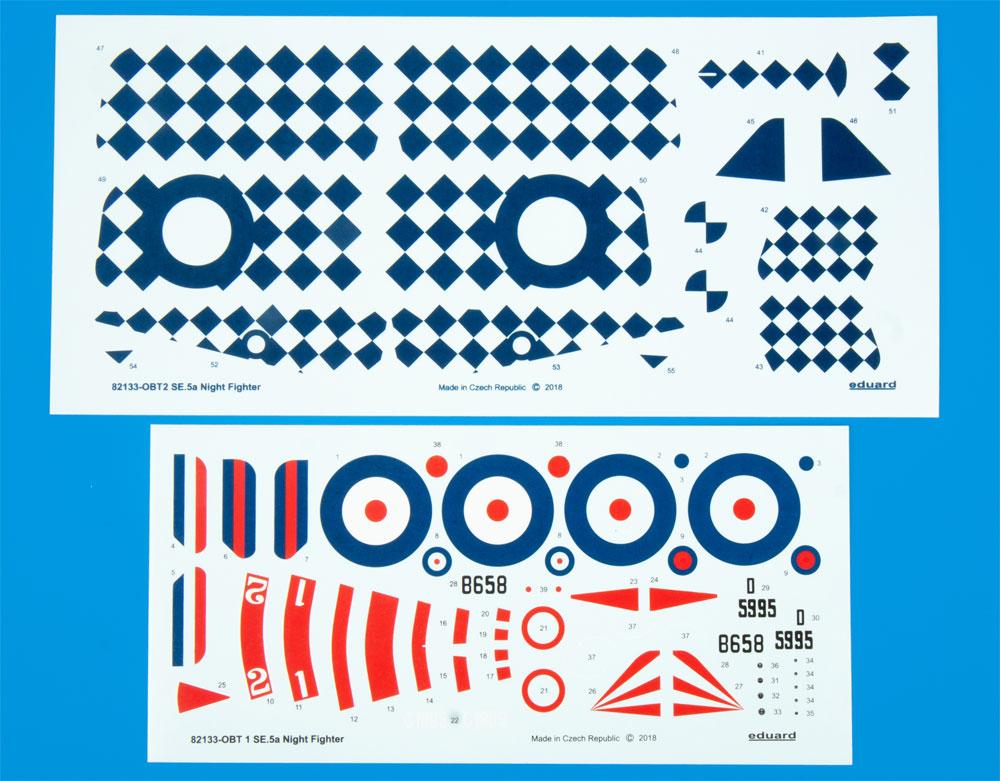 SE.5a ナイトファイタープラモデル(エデュアルド1/48 プロフィパックNo.82133)商品画像_2