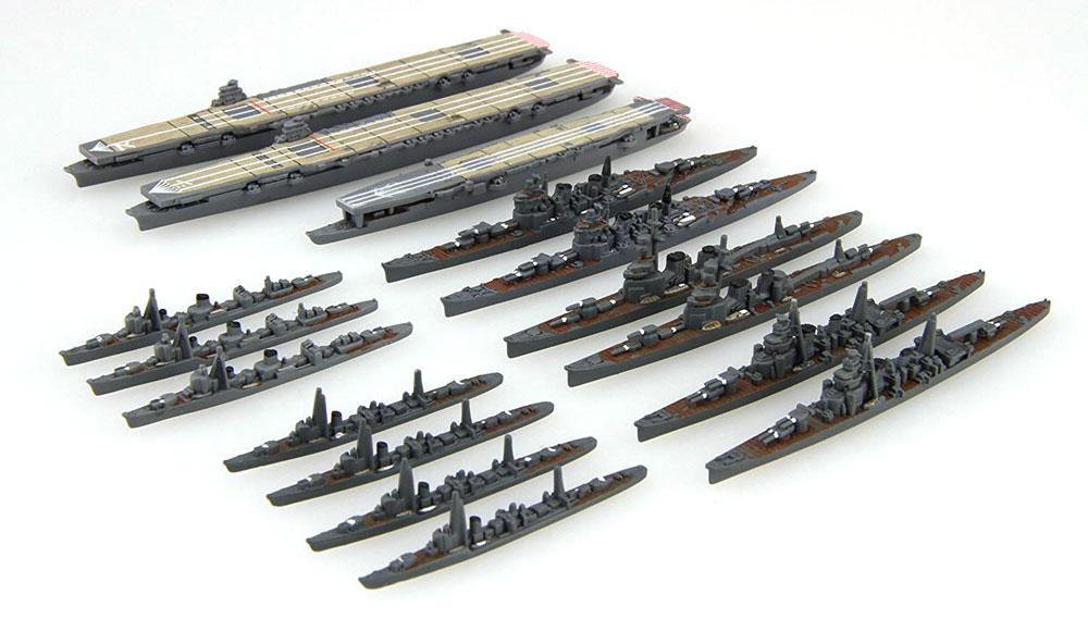 MO作戦 珊瑚海海戦セットプラモデル(フジミ集める軍艦シリーズNo.014)商品画像_1