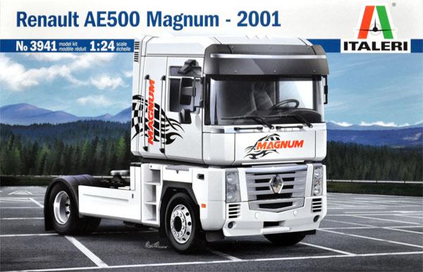 ルノー AE500 マグナム トラック - 2001プラモデル(イタレリ1/24 トラックシリーズNo.3941)商品画像