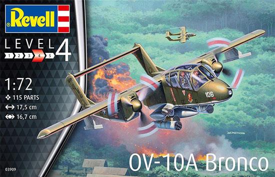 OV-10A ブロンコプラモデル(レベル1/72 AircraftNo.03909)商品画像