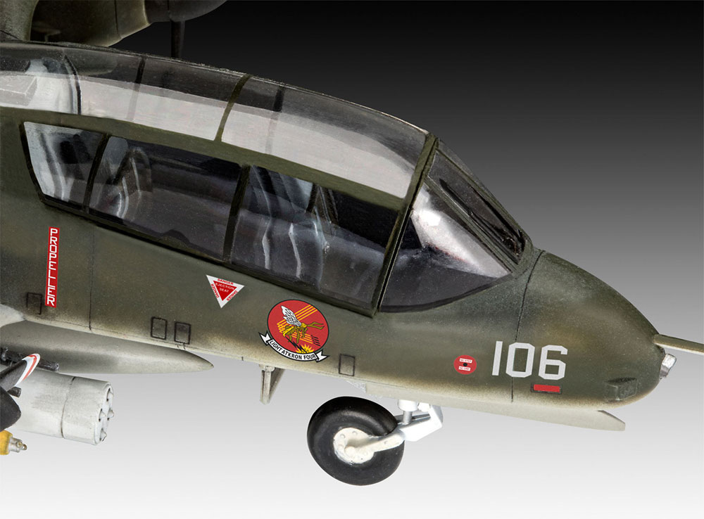 OV-10A ブロンコプラモデル(レベル1/72 AircraftNo.03909)商品画像_4
