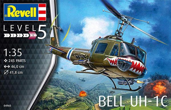 ベル UH-1Cプラモデル(レベルプラスチックモデルNo.04960)商品画像