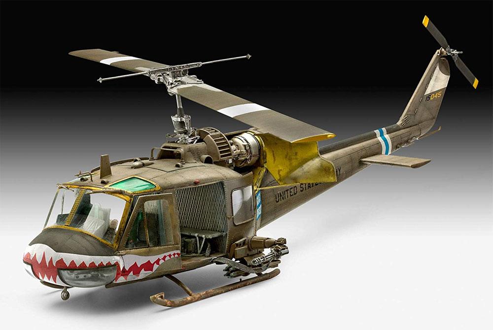 ベル UH-1Cプラモデル(レベルプラスチックモデルNo.04960)商品画像_2