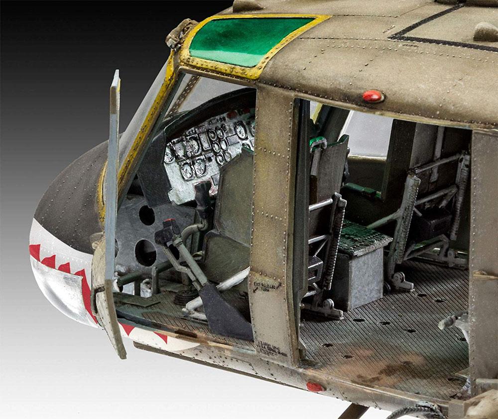 ベル UH-1Cプラモデル(レベルプラスチックモデルNo.04960)商品画像_3