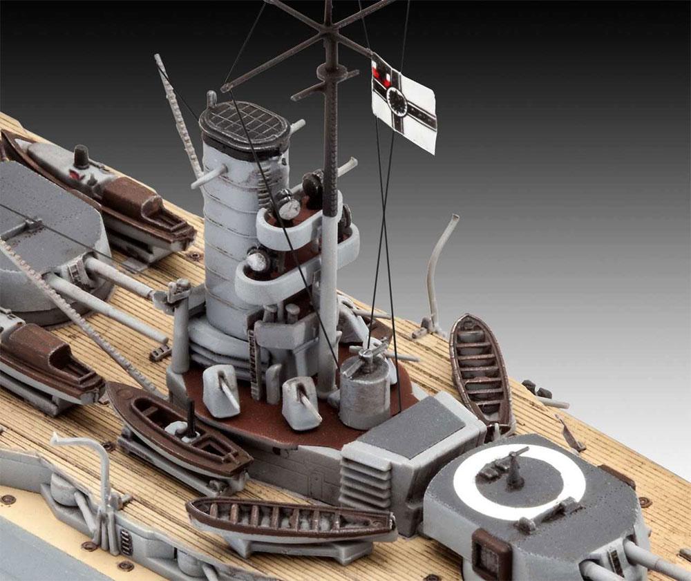 WW1 ドイツ 弩級戦艦 ケーニッヒプラモデル(レベル1/700 艦船モデルNo.05157)商品画像_4