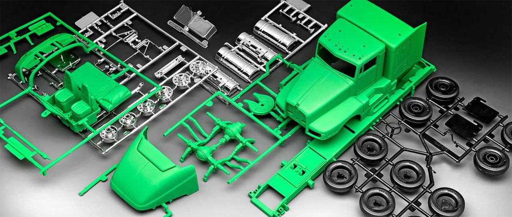 ケンワース T600プラモデル(レベル1/32など カーモデルNo.07446)商品画像_1