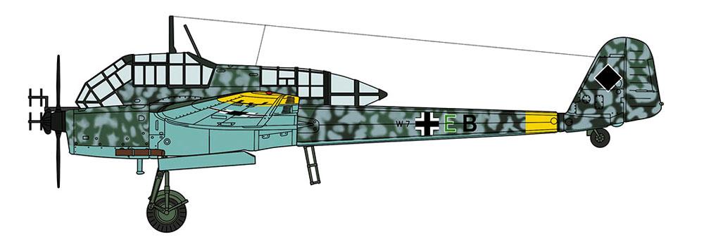 フォッケウルフ Fw189A-1 ナイトファイター(プラモデル)(ハセガワ1/72 飛行機 限定生産No.02286)商品画像_2
