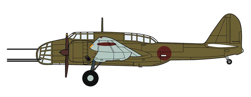 川崎 キ48 九九式 双発軽爆撃機 2型 特別装備機(プラモデル)(ハセガワ1/72 飛行機 限定生産No.02287)商品画像_2