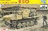 ドイツ 7.5cm PaK40/4搭載型 RSO w/冬季装備の砲兵