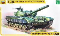 ズベズダ1/35 ミリタリーソビエト 主力戦車 T-72B