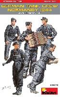 ミニアート1/35 WW2 ミリタリーミニチュアドイツ 戦車兵 ノルマンディ 1944 スペシャルエディション