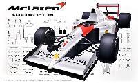 フジミ1/20 GPシリーズマクラーレン ホンダ MP4/6 (ブラジルGP/サンマリノGP/日本GP)