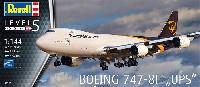 レベル1/144 旅客機ボーイング 747-8F UPS