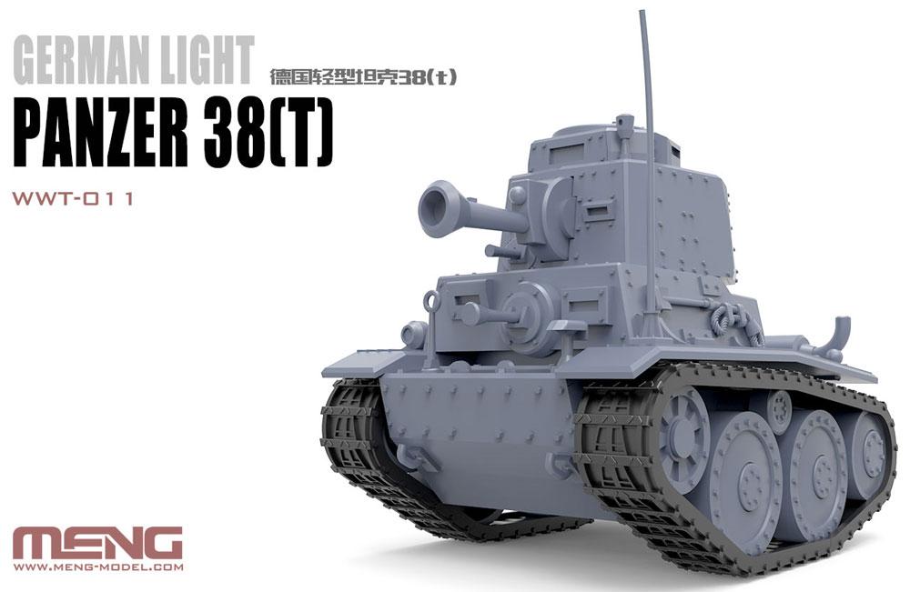 ドイツ 軽戦車 38(t)プラモデル(MENG-MODELWORLD WAR TOONSNo.WWT-011)商品画像_1
