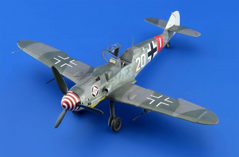 メッサーシュミット Bf109G-6 後期型プラモデル(エデュアルド1/48 プロフィパックNo.82111)商品画像_3
