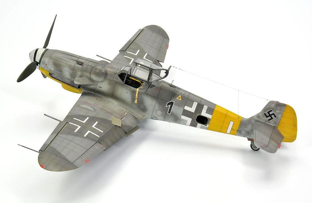 メッサーシュミット Bf109G-6 後期型プラモデル(エデュアルド1/48 プロフィパックNo.82111)商品画像_4