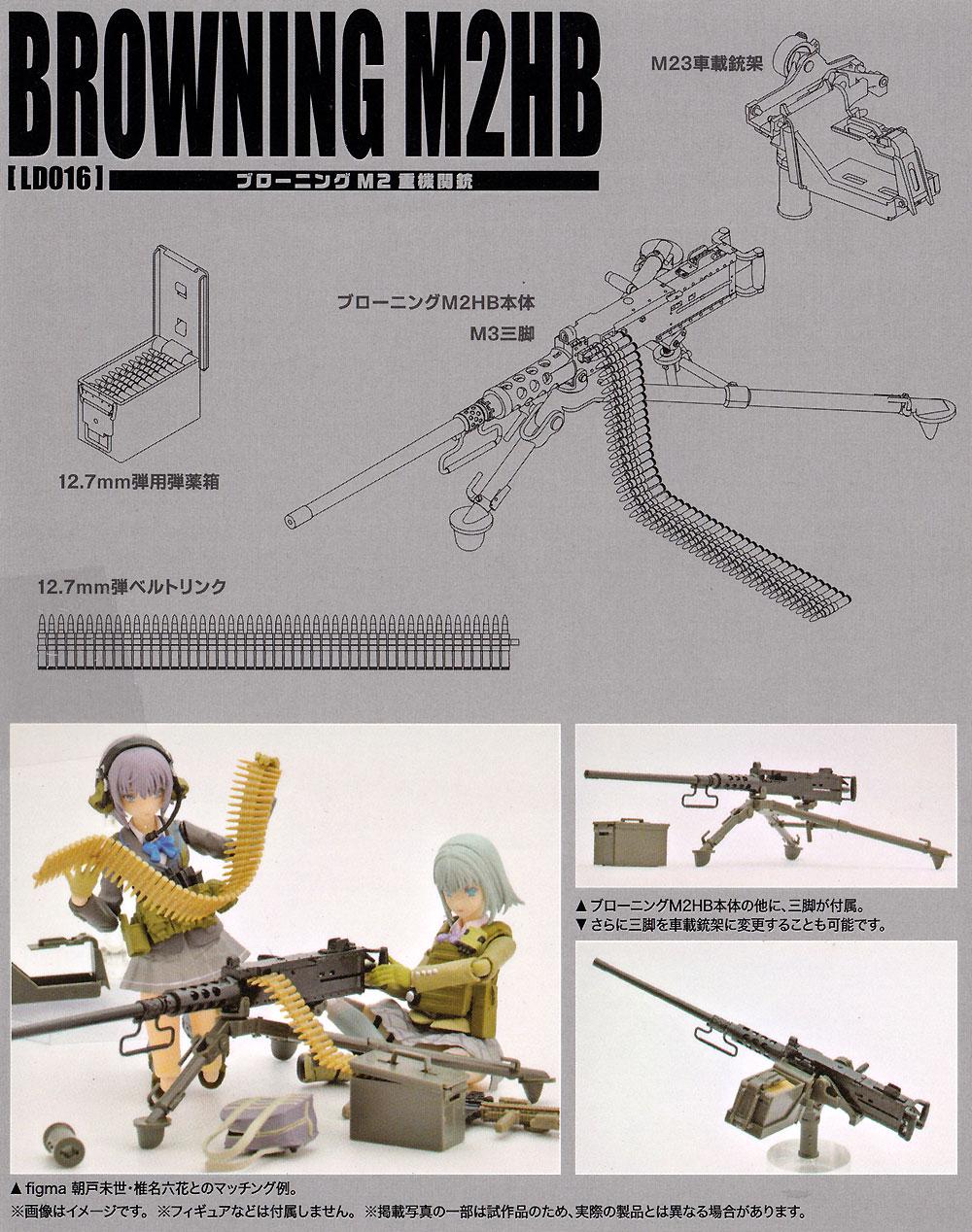 ブローニング M2HBプラモデル(トミーテックリトルアーモリー (little armory)No.LD016)商品画像_1