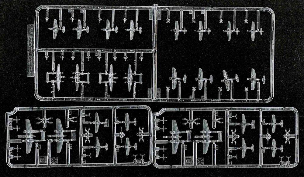 WW2 米国軍用機 2 クリア成型プラモデル(ピットロードスカイウェーブ S シリーズ (定番外)No.S043C)商品画像_2