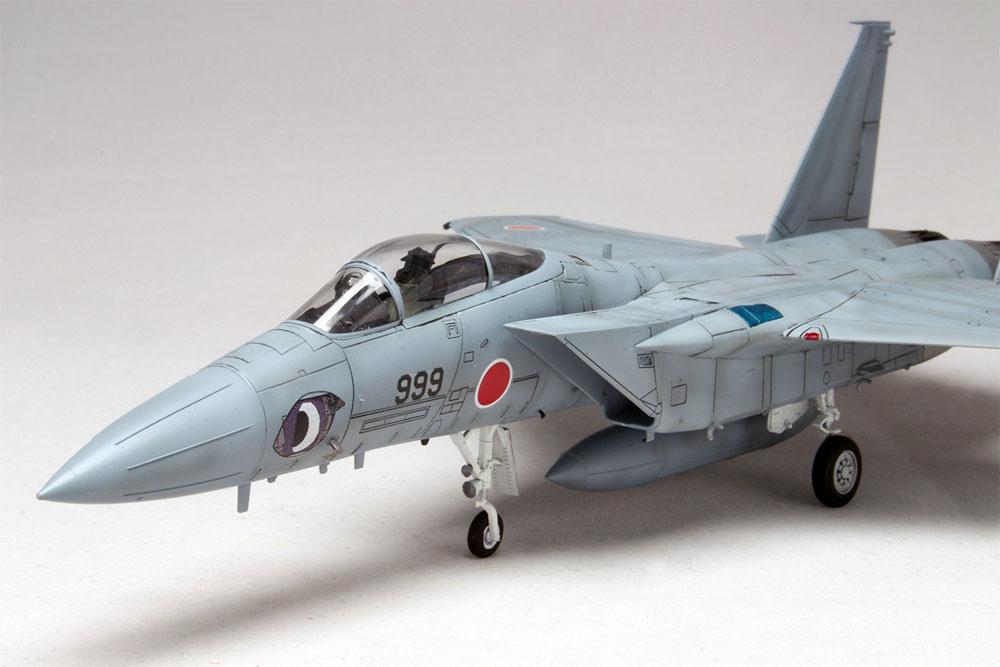 航空自衛隊 F-15J まそたん F形態プラモデル(プラッツ1/72 プラスチックモデルキットNo.HMK-001)商品画像_4