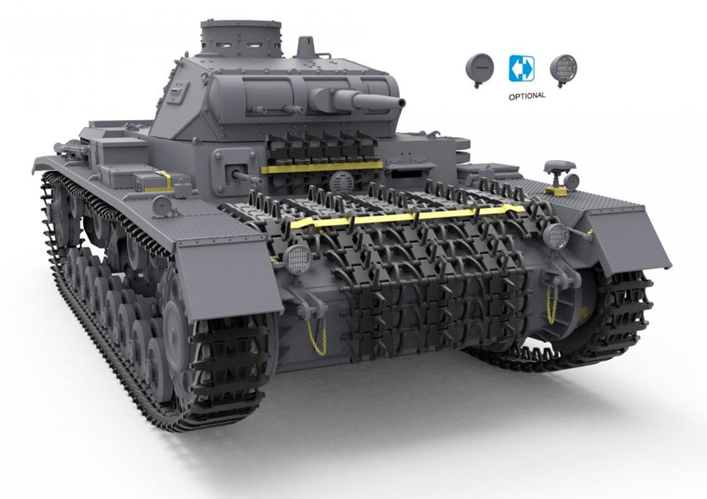3号戦車 D/B型プラモデル(ミニアート1/35 WW2 ミリタリーミニチュアNo.35213)商品画像_1