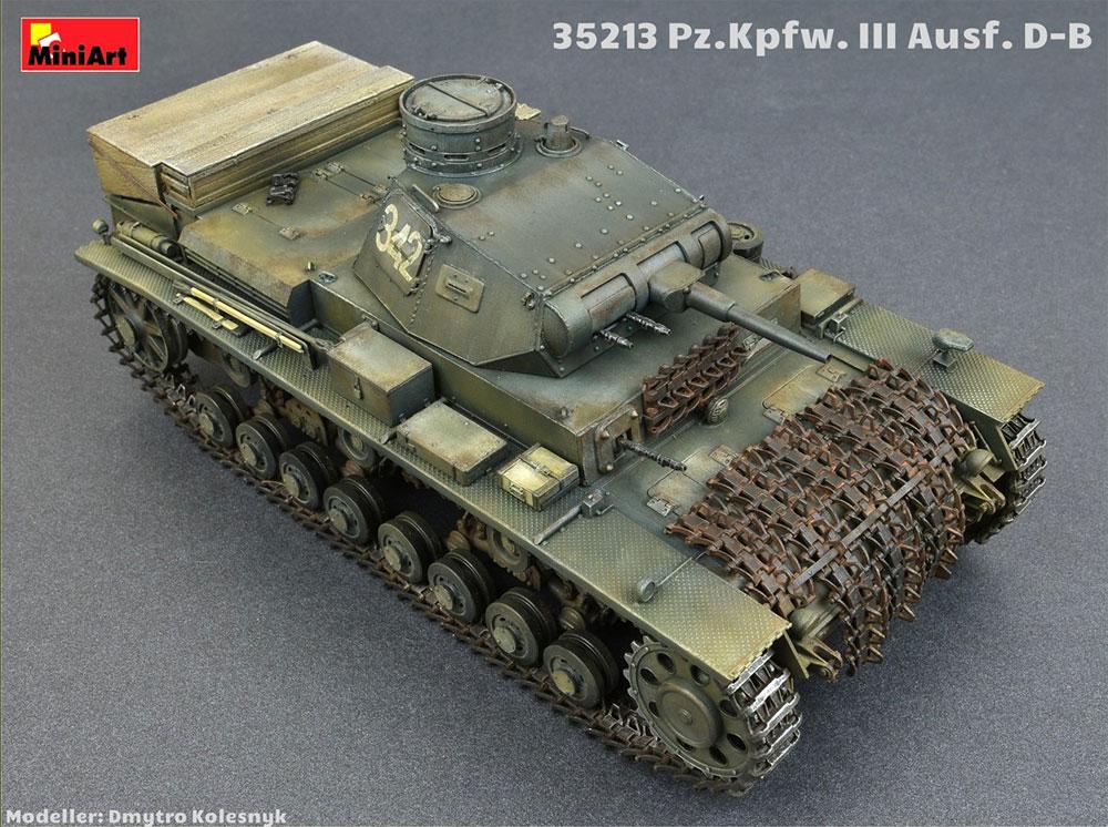 3号戦車 D/B型プラモデル(ミニアート1/35 WW2 ミリタリーミニチュアNo.35213)商品画像_2