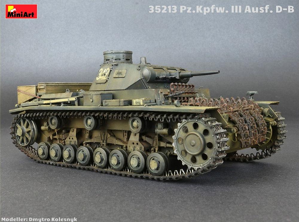 3号戦車 D/B型プラモデル(ミニアート1/35 WW2 ミリタリーミニチュアNo.35213)商品画像_4