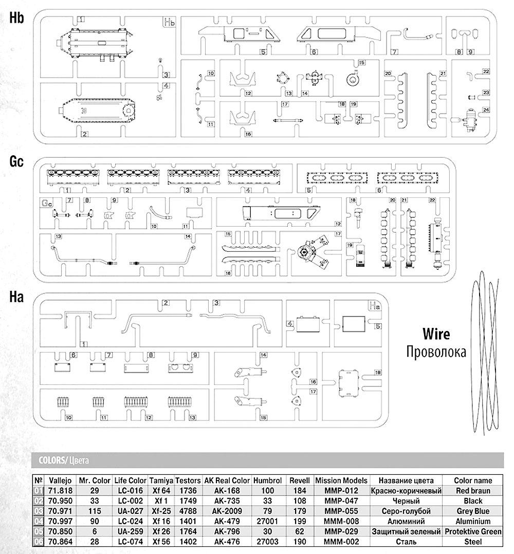V-55 エンジンプラモデル(ミニアート1/35 ミリタリーミニチュアNo.37025)商品画像_1