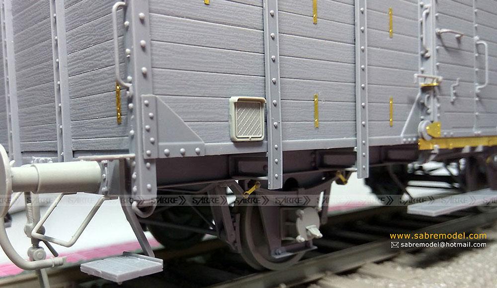 ドイツ 有蓋貨車 G10 (6N in 1)プラモデル(サーベルモデル1/35 ミリタリーNo.35A001)商品画像_4
