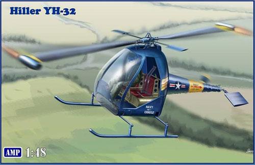 ヒラー YH-32 ホーネットプラモデル(AMP1/48 プラスチックモデルNo.48005)商品画像