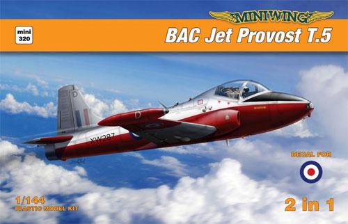 BAC ジェット プロヴォスト T.5プラモデル(ミニウイング1/144 インジェクションキットNo.mini320)商品画像