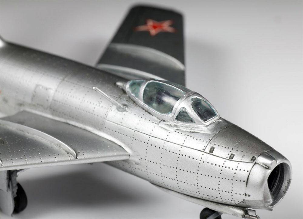 ソビエト戦闘機 MIG-15 ファゴットプラモデル(ズベズダ1/72 ミリタリーNo.7317)商品画像_3