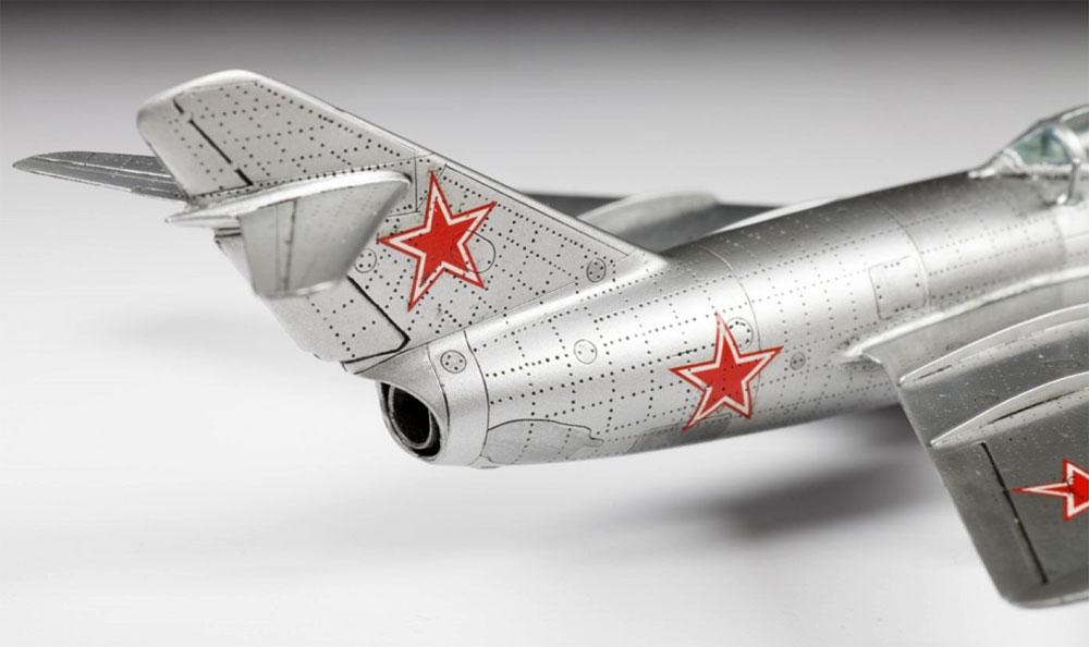 ソビエト戦闘機 MIG-15 ファゴットプラモデル(ズベズダ1/72 ミリタリーNo.7317)商品画像_4
