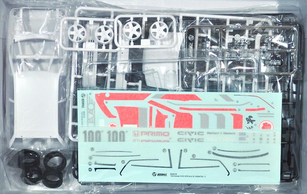 ホンダ シビック EF9 Gr.A '91 出光仕様プラモデル(BEEMAX1/24 カーモデルNo.019)商品画像_1