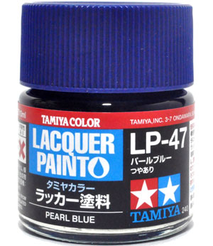 LP-47 パールブルー塗料(タミヤタミヤ ラッカー塗料No.LP-047)商品画像